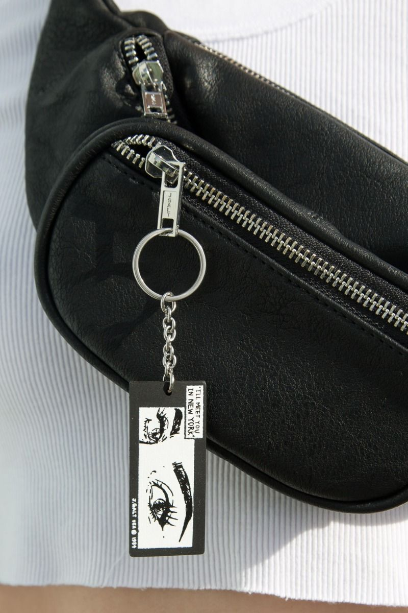 I'll Meet You In New York Keychain
